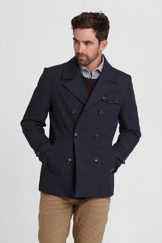 Jackets from $99.99 - Benton Peacoat - Barkers