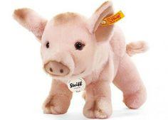guitige knuffel sissi het roze varken Steiff   kinderen-shop Kleine Zebra