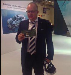 Wow, war das cool! Auf der IAA 2015 wurden wir am 15.09.2015, gemeinsam mit unserem Kunden Mitsubishi und deren Projektteam, in der Kategorie Digital im Automotive Brand Contest den ersten Preis gewinnen!