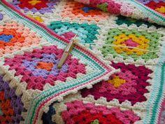 Granny squares...Love, Love, Love!