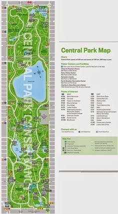 E aí, férias!: Nova Iorque - Central Park, o que tem para se ver neste grande parque?