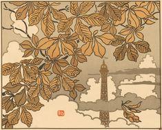 Lithographie Henri Rivière, 1902