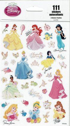 Sandylion Disney Villians Hall Sticker Flip Pack