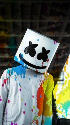 Marshmello Wallpapers - Click Image to Get More Resolution & Easly Set Wallpapers Musik Wallpaper, Hacker Wallpaper, 8k Wallpaper, Marvel Wallpaper, Apple Wallpaper, Galaxy Wallpaper, Colorful Wallpaper, Wallpaper Downloads, Screen Wallpaper