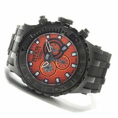 Invicta Reserve 52mm Subaqua Diver Swiss Made Quartz Chronograph Polyurethane Strap Watch $272