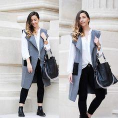Fashion Pants, Fall Winter, Women Wear, Zara, Vest, Sporty, Style Inspiration, Blazer, Casual