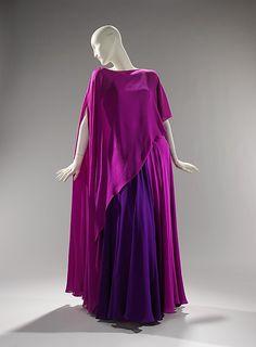 Madame Grès evening dress, 1967.