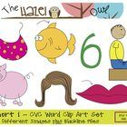 This set of graphics is perfect for creating phonics, phonemic awareness, and other early literacy activities in your classroom or in products you ...