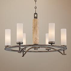 Minka Compositions Collection 6-Light Chandelier