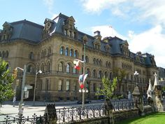 The Langevin Block, home to the Prime Minister's Office and designated a National Historic Site of Canada, Ottawa
