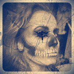 #makeupart #makeup #lisaroseimogen #lisarosemua #halloween #tattoo #love #illamasqua #art #nailartshoosh