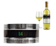 Wine Bottle Thermometer by Kikkerland Wine Cuff