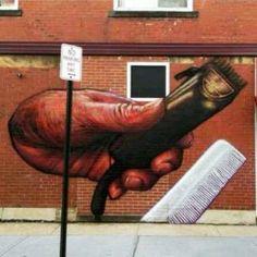 Barber Art Mural