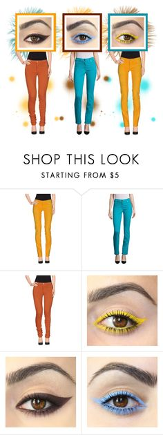 """DENIM"" by beanpod ❤ liked on Polyvore featuring MET, ESCADA and Joe's Jeans"