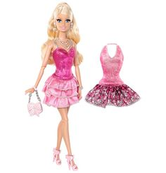 Need tips on rocking a party-ready, pink-tastic look? Barbie is the perfect friend for the job!
