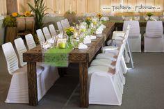 Rustic Style - Möbel aus massiver Eiche Möbel für jeden Anlass - für jede Feier