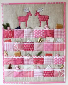 Fantastic Pics Quilting navidad Suggestions You decide to begin quilting. You are unable to put it off to accomplish a person's stunning tapestry maste Christmas Sewing Projects, Diy And Crafts, Christmas Crafts, Advent Calenders, Diy Advent Calendar, Christmas Countdown, Christmas Diy, Holiday, Calendrier Diy