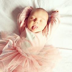 A sleeping newborn in her first Tutu. Tiny Dancer, Love You All, Sweet Memories, Baby Fever, Hilarious, Funny, Ballet, Children, Instagram Posts