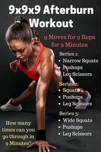 Fitness Routine: Full Body Workout - This fitness program is great for at home, on-the-go or even at the office when… - Fitness Senior, Yoga Fitness, Fitness Tips, Health Fitness, Fitness Plan, Workout Fitness, Easy Fitness, Fitness Exercises, Amrap Workout