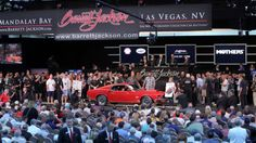 Barrett-Jackson is celebrating its 45th anniversary and the auction company has a lot to celebrate. The auction company just wrapped up its ninth annual auction in Las Vegas, NV with sales totaling roughly $32.5 million. Barrett-Jackson's 45th anniversary, then, is shaping out to be quite a year. Here's a list of the top five vehicles that brought in the most money at the 2016 Las Vegas auction starting with number five.
