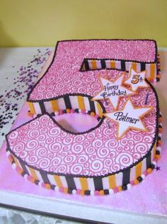 Cake Designs For Baby Girl 5th Birthday : 1000+ images about Girls birthday cake on Pinterest ...
