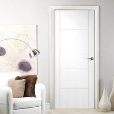Fabulous white modern interior doors - How To Choose Right White Modern Interior Doors White Internal Doors, Internal Doors, Metal Doors Makeover, Interior, Wood Doors Interior, Contemporary Internal Doors, Home Decor, Doors Interior Modern, Doors Interior