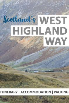 Walking the West Highland Way – 5 days Itinerary See Scotland's best locations during the West Highland Way Scotland. One of the best hiking trails in Scotland starts at Milngavie and ending in Fort William. Scotland Hiking, Scotland Travel Guide, Scotland Vacation, Ireland Travel, Hiking Routes, Hiking Trails, West Highland Way, Europe On A Budget, European Travel
