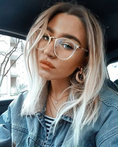 Delete frames - clear frames, elevates your fashion sense to a higher level . - Erase frames – Clear frames, elevates your fashion sense to a higher level. Glasses Frames Trendy, Fake Glasses, New Glasses, Glasses Online, Clear Glasses Frames Women, Girls With Glasses, Makeup With Glasses, Circle Glasses Frames, Stylish Glasses For Women