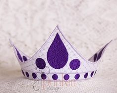 Aurora Crown - 2 Sizes! | What's New | Machine Embroidery Designs | SWAKembroidery.com PunKin Design