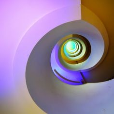 """Eye of Cain by Eric """"Kala"""" Forey on Interior Staircase, Staircase Design, Stair Steps, Stair Railing, Fibonacci Spiral, Stairway To Heaven, Stairways, Pattern Art, Graphic"""