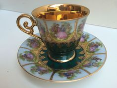 A personal favorite from my Etsy shop https://www.etsy.com/listing/455466762/german-bavaria-demitasse-cup-and-saucer