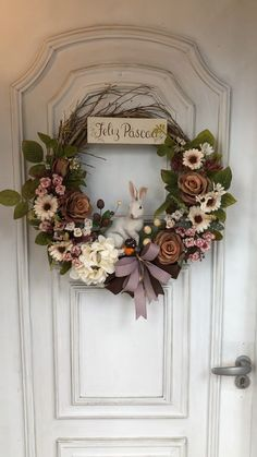 Your place to buy and sell all things handmade Rose Gold Christmas Decorations, Christmas Mesh Wreaths, Diy Fall Wreath, Easter Wreaths, Holiday Wreaths, Spring Wreaths, Summer Wreath, Wooden Wreaths, Grapevine Wreath