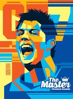 Christiano Ronaldo Tools Adobe Illustrator Adobe Photoshop