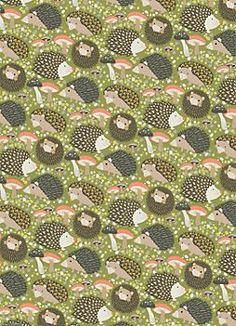 WANT - Hedgehogs Wrapping Paper