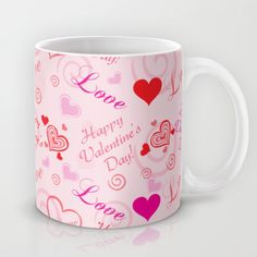 Happy Valentine's Day Coffee Mug by refreshdesign