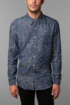 The Narrows Speckled Chambray Shirt