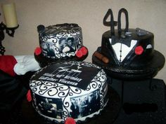Godfather Theme 40th Birthday Mafia Party, The Godfather, 40th Birthday, Party Time, Birthdays, Baby Shower, Cake, Desserts, Anniversaries