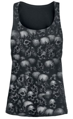 Skull top by Alchemy England ~ Emp