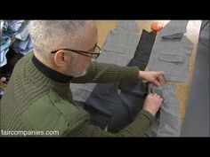Wardrobe surgery: upcycled clothing in London's Hackney-Look for military sweaters/jackets/fabrics