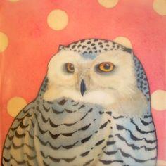 Mary Alayne Thomas   Snow Owl
