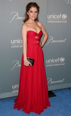 BEVERLY HILLS, CA - JANUARY 14: Actress Anna Kendrick arrives at the 2014 UNICEF Ball presented by Baccarat at Regent Beverly Wilshire Hotel on January 14, 2014 in Beverly Hills, California. (Photo by Chelsea Lauren/WireImage)
