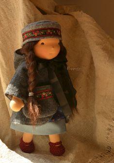 Dress and coat pattern by Petit Gosset Dolls