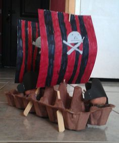 Themed parties 616852480187201794 - Arts Visuels: le bateau pirate Source by Deco Pirate, Pirate Kids, Pirate Theme, Easy Halloween Crafts, Diy Crafts For Kids, Art For Kids, Preschool Themes, Preschool Art, Pirate Activities