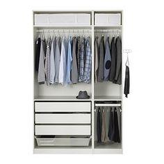 PAX Armoire-penderie - charnières standard - IKEA 499euros