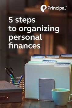 Here are 5 quick tips to help you organize your financial files