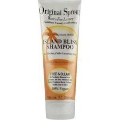 Original Sprout Island Bliss Shampoo, 8 oz. by Original Sprout. $14.80. Gentle pH of 6.0-7.0 to Help Retain Hair Color. For Babies, Children & Adults. Leaves Hair Soft & Strong. For All Hair Types. 100% Vegan & Cruelty Free. Now we have have thicker, smoother luxurious hair with our new Island Bliss Shampoo. Unlike other sulfate free shampoos that can weigh hair down, our brilliant formula delivers touchable, smooth volume that lasts all day. Keeps color fresh without su...