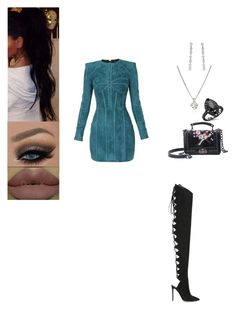 """Untitled #652"" by insafsat on Polyvore featuring Balmain, Alexandre Vauthier, Forzieri and Cartier"
