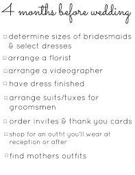 Image Result For Wedding Planning Checklist 6 Months Time
