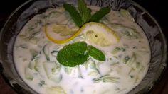 12 hűsítő saláta, ami tökéletes köret a nyárra! | Mindmegette.hu Tzatziki, Coleslaw, Mashed Potatoes, Pudding, Ethnic Recipes, Desserts, Food, Mint, Coleslaw Salad