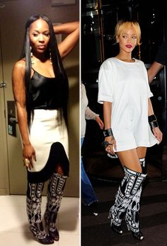 Who Wore it Better? Marlo Hampton vs. Rihanna in Tom Ford's Fall ...